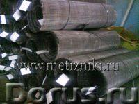 Сетка тканная стальная, оцинкованная, нержавеющая, латунная и др. из наличия - Материалы для строите..., фото 1