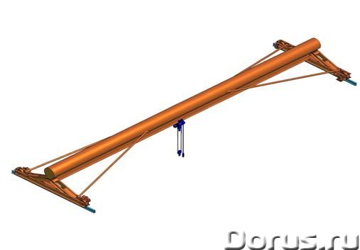 Кран мостовой опорный - Промышленное оборудование - Организация спроектирует изготовит и смонтирует..., фото 3