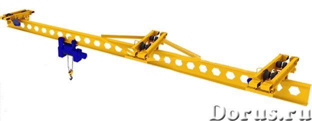Кран мостовой подвесной однобалочный - Промышленное оборудование - Организация спроектирует изготови..., фото 2