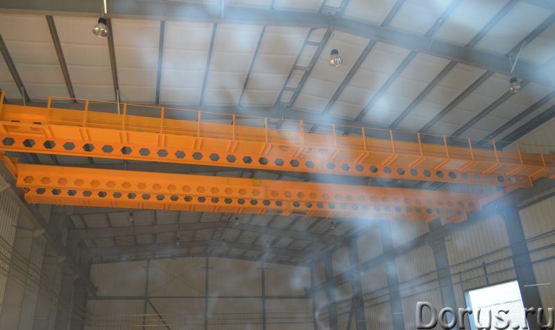 Кран мостовой опорный двухбалочный - Промышленное оборудование - Организация спроектирует изготовит..., фото 2