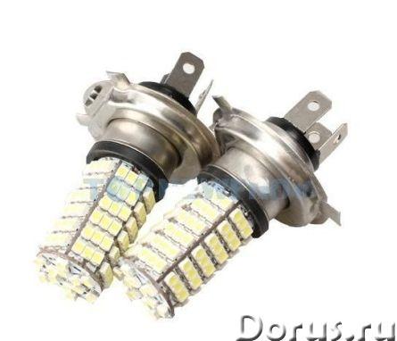 Светодиодная лампа H4 120 LED (2шт.) - Запчасти и аксессуары - Светодиодная лампа H4 120 LED (2шт.)..., фото 1