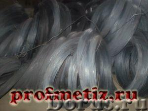 Проволока ф 1,2 ГОСТ 3282-74 вязальная в маленьких мотках - Металлопродукция - Проволока вязальная д..., фото 1